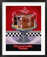 Framed Chocolate Cake