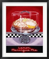 Framed Lemon Meringue Pie