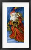 Framed Old World Santa