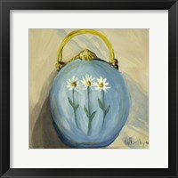 Framed Purse Blue