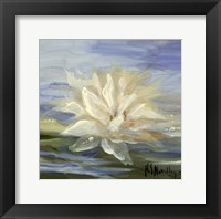 Framed Water Lillies 2