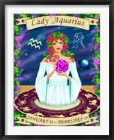 Framed Aquarius