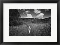 Beyond the Ridge I Framed Print