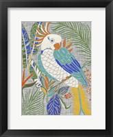 Framed Tropical Cockatoo