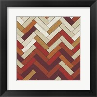 Parquet Prism III Framed Print