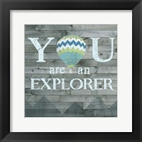 Inspired Youth V Framed Print