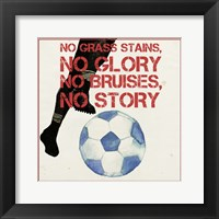 Sports Epigram I Framed Print