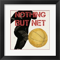 Sports Epigram III Framed Print