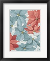 Christmas Poinsettia I Framed Print