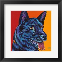 Framed Dogs in Color I