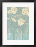 Framed Apothecary Flowers II