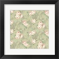 Framed Downton Roses I