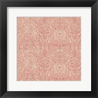 Framed Downton Damask I