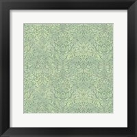 Framed Downton Damask III