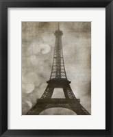 Framed Vintage Eiffel I