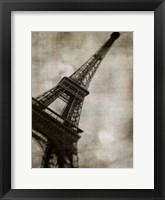 Vintage Eiffel II Framed Print
