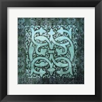 Antiquity Tiles III Framed Print