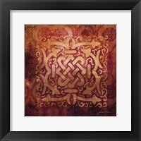 Antiquity Tiles IV Framed Print
