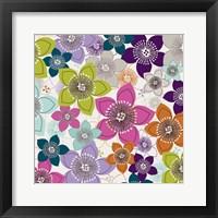 Framed Boho Floral II