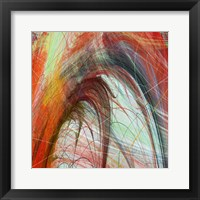 String Tile II Framed Print
