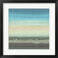 Beach Layers II Framed Print