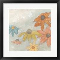 Floral Fresco I Framed Print