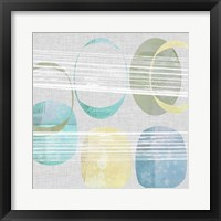Stone Pattern II Framed Print