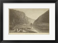 Framed Delaware Water Gap