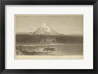 Framed Mount Hood from Columbia