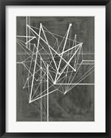 Vertices I Framed Print