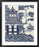 Willow Landscape I Framed Print