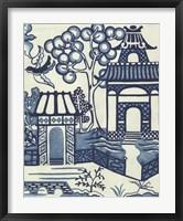 Willow Landscape II Framed Print