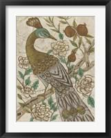 Chinoiserie Pheasant I Framed Print