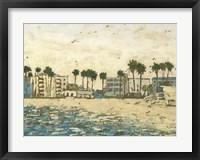 Beach Coast I Framed Print