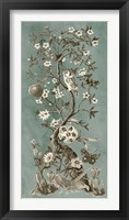 Chinoiserie Patina I Framed Print