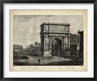 Framed Arco di Tito
