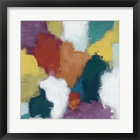 Color Cascade II Framed Print