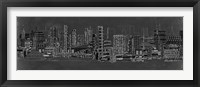 Framed City Sounds at Night