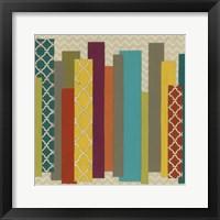 Patternscape II Framed Print