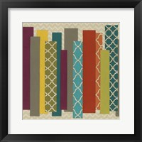 Patternscape III Framed Print