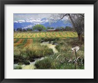 Idyllic Farm I Framed Print