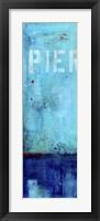 Pier 34 I Framed Print