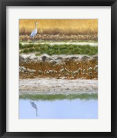 Framed Blackwater Tapestry I
