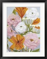Morning Bouquet I Framed Print
