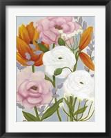 Morning Bouquet II Framed Print
