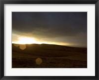 Stormy Sunset I Framed Print