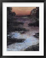 Twilight Canal II Framed Print