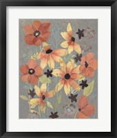 Offset Botanicals I Framed Print
