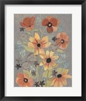 Offset Botanicals II Framed Print
