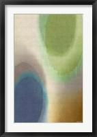 Overtone Blue II Framed Print